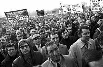 08-12-1970 - 1970 trade union demonstration and rally against the proposed introduction of the Industrial Relations Act. © Gail Clarke Hall