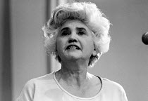 15-10-1970 - Jennie Lee, Socialist, Labour politician and wife of Nye Bevan, London 1970 © Report IFL Archive