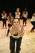 08-07-2011 - A dance lesson at Joseph Chamberlain Sixth Form College. © Roy Peters
