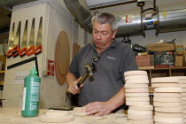 23-06-2008 - Carpenter at work in the Scenery and Props department at Covent Gardens Royal Opera House © Stefano Cagnoni