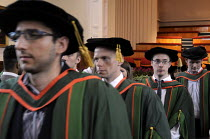 16-07-2014 - Conclusion of the Graduation ceremony for Mathematics students at the University of Leeds. © Stefano Cagnoni