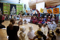 15-12-2012 - Reception class performing a Nativity play, Kings Heath Primary School, Birmingham © Timm Sonnenschein