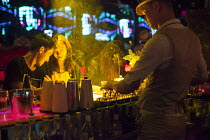 11-09-2015 - Mask Western style bar, Kundu, nightclub district, Kunming, China © Connor Matheson