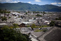 21-09-2015 - A general view of Lijiang Old Town, a tourist attraction. Lijang, Yunnan Province, China. © Connor Matheson