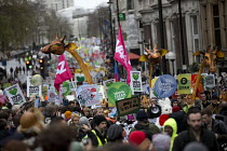 29-11-2015 - The People's March for Climate, Justice and Jobs. London. © Jess Hurd