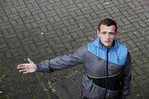 09-11-2010 - Lee John Mansfield is unemployed in Merthyr Tydfil - as an ex-prisoner and an ex-drug addict, he knows there is no possibility of getting a job. Merthyr Tydfil is one of the unhealthiest places in Bri... © David Mansell