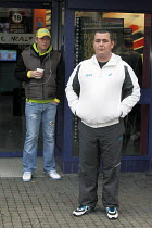 08-11-2010 - David Adams (right) is 35 year old, unemployed and suffers from depression, he is an ex-prisoner and ex-drug addict. He knows there is no chance of ever working again as he suffers from ill health fro... © David Mansell