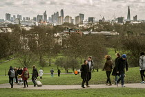 07-02-2016 - City of London skyline from Primrose Hill, Camden, London © Philip Wolmuth