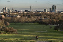 11-02-2016 - City of London skyline from Primrose Hill, Camden. © Philip Wolmuth