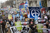 27-02-2016 - CND Stop Trident national demonstration, Piccadilly, London © Jess Hurd