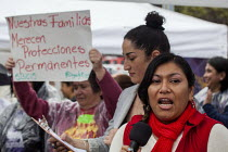 04-03-2016 - San Francisco Domestic Workers rally for a permanent Bill of Rights to provide domestic workers, housekeepers and cleaners the right to overtime pay, meal breaks and decent pay © David Bacon