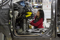 06-05-2016 - Windsor, Ontario Canada Car production Fiat Chrysler Automobiles Windsor Assembly Plant where FCA is producing the 2017 Chrysler Pacifica and the Dodge Grand Caravan © Jim West