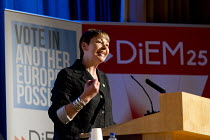 28-05-2016 - Caroline Lucas, Green Party. Another Europe is Possible conference, Vote In campaign. UCL Institute of Education. London. © Jess Hurd