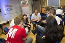 28-05-2016 - Another Europe is Possible conference, Vote In campaign. Referendum on European membership. UCL Institute of Education. London. Group discussion © Jess Hurd
