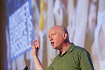 28-05-2016 - Matt Wrack FBU. Another Europe is Possible conference, Vote In campaign. Referendum on European membership. UCL Institute of Education. London. © Jess Hurd