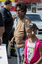 11-06-2016 - Detroit, Michigan Wayne County sheriff Anonymous Gun Buyback program, offering $50 for each weapon handed in © Jim West