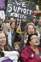 28-06-2016 - Keep Corbyn rally of supporters against Blairite leadership challenge, Bristol © Paul Box