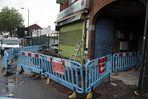 29-06-2016 - Halal butchers firebombed in alledged racist attack, Walsall © John Harris