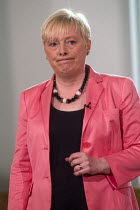 11-07-2016 - Angela Eagle Labour Party launching her leadership bid. Angela Eagle, Labour MP for Wallasey, at a press conference launching her bid to become Leader of the Labour Party, London, 2016 © Stefano Cagnoni