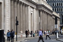 18-08-2016 - Bank of England, Threadneedle Street, City of London. © Philip Wolmuth