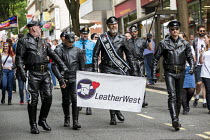 09-07-2016 - Pride Day Parade, Bristol. Mr LeatherWest © Paul Box