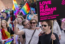 09-07-2016 - Pride Day Parade, Bristol. Love is a human right © Paul Box