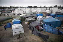 07-09-2016 - Refugees in the remaining Calais Jungle camp, France. © Jess Hurd