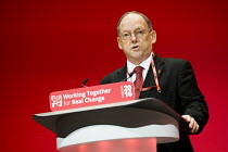 26-09-2016 - Brian Rye, UCATT speaking Labour Party conference Liverpool. © Jess Hurd