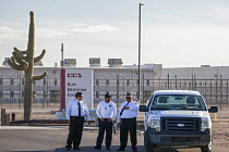 07-10-2016 - Eloy, Arizona - The Eloy Detention Center, a privately-owned prison that houses immigration detainees. It is operated by the Corrections Corporation of America. From 2003-2016, 14 detainees died in cu... © Jim West