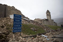 07-11-2016 - Norcia, hit by a huge earthquake, Umbria, Italy © Jess Hurd