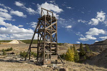19-09-2016 - Leadville, Colorado, USA The Leadville Mining District. Mining for gold, silver, lead, zinc, and copper began here in 1860. The Robert Emmet Mine was the site of a major battle between striking member... © Jim West