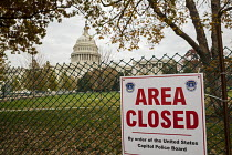 25-11-2016 - Washington, DC - The west lawn and grounds of the U.S. Capitol building are closed during preperations for the inauguration of US President-elect Donald Trump © Jim West