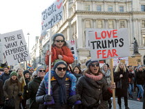 21-01-2017 - London Women's March against the Presidency of Donald Trump © Stefano Cagnoni