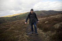 24-02-2017 - Kinder Scout trail in the Peak District, Derbyshire © Jess Hurd