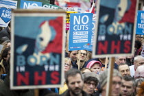 04-03-2017 - It's Our NHS, National Demonstration to defend the NHS, London © Jess Hurd