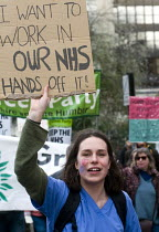 04-03-2017 - It's Our NHS, National Demonstration to defend the NHS, London © Stefano Cagnoni
