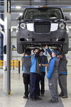 22-03-2017 - Prototype TX5 production. London Taxi Company opening a new car factory to make TX5 electric Black Cab taxis, Ansty, Coventry. LTC is owned by Chinese car maker Geely © John Harris
