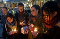 23-03-2017 - Candlelit London Vigil Trafalgar Square in solidarity with the victims of the Westminster terrorist attack © Stefano Cagnoni