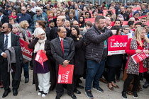 06-05-2017 - Tulip Siddiq launching her general campaign for Hampstead and Kilburn, the tenth most marginal Labour parliamentary seat in the UK. Swiss Cottage, London. © Philip Wolmuth