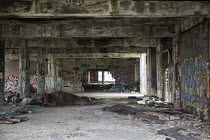 16-05-2017 - Detroit, Michigan The derelict Packard plant. Opened in 1903 the 3.5 million square foot plant employed 40,000 workers before closing in 1958. It has been left to decay and the ruins became a symbol o... © Jim West