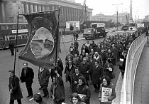 20-12-1972 - National one day AUEW strike against the fines imposed by the National Industrial Relations Court on the union, Liverpool 1972 © NLA