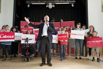 03-06-2017 - Jeremy Corbyn Labour Party general election rally, Beeston, Nottingham © John Harris