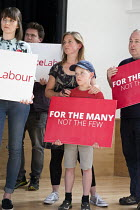 03-06-2017 - Supporters, Jeremy Corbyn Labour Party general election rally, Beeston, Nottingham © John Harris
