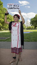 09-06-2017 - Washington DC, USA Transgender Rally for Equality at the Capitol. Organized by the National Center for Transgender Equality. Estrella Sanchez is Mexican, an asylum seeker and is tracked by immigration... © Jim West
