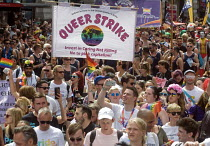 08-07-2017 - Pride 2017. Gay Pride celebration and march London. Queer Strike © Stefano Cagnoni