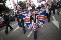 19-08-2017 - Refugees Not Welcome, National Front march, Grantham, Lincolnshire © Jess Hurd