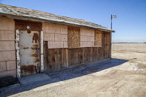 18-08-2017 - Imperial Valley, California, USA An abandoned labor camp near the US Mexican border, Mt. Signal © David Bacon