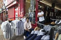 17-09-2017 - Young Asian shop workers, Sparkbrook, Birmingham © John Harris