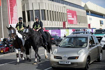 24-09-2017 - Police horses, Labour Party Conference, Brighton 2017 © Jess Hurd
