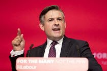 26-09-2017 - Jonathan Ashworth MP speaking Labour Party Conference, Brighton 2017 © Jess Hurd